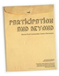 Heron Park Community Centre Discussion